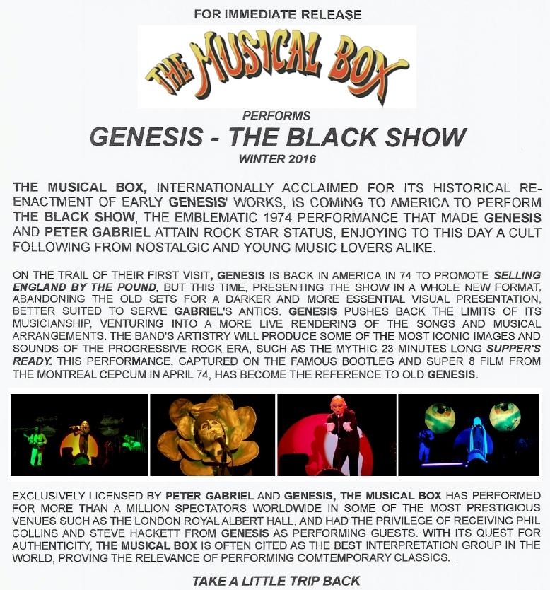 the musical box black show 2